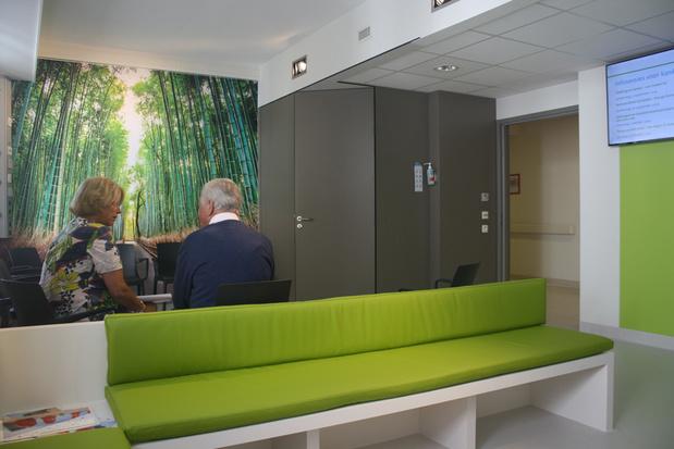 Nieuwe huiselijke wachtkamer in oncologisch dagziekenhuis AZ Turnhout