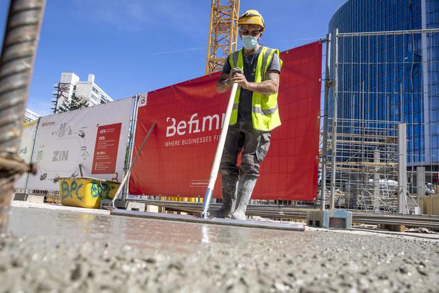 Beton van vroegere WTC-torens in Brussel wordt opnieuw gebruikt