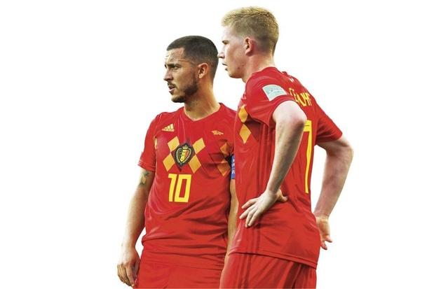 Eden Hazard en Kevin De Bruyne azen op plaats in Wereldelftal van het Jaar