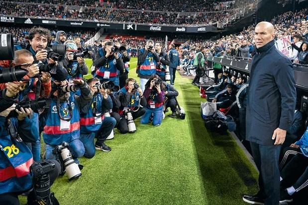 Comment Zidane s'est refait une place au Real Madrid