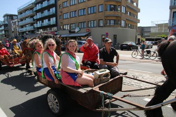 Garnaalfeesten lokken opnieuw massaal veel volk naar Oostduinkerke