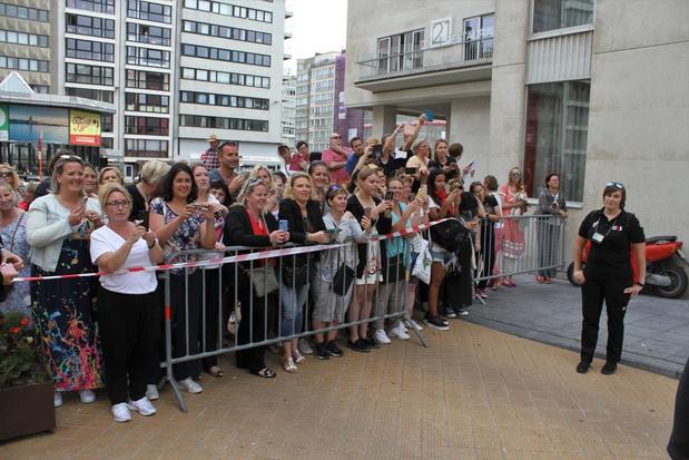 Take That opgewacht door massa fans voor optreden in Kursaal Oostende