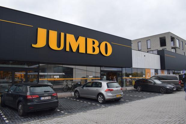 Jumbo wil tegen eind dit jaar 20 supermarkten in België