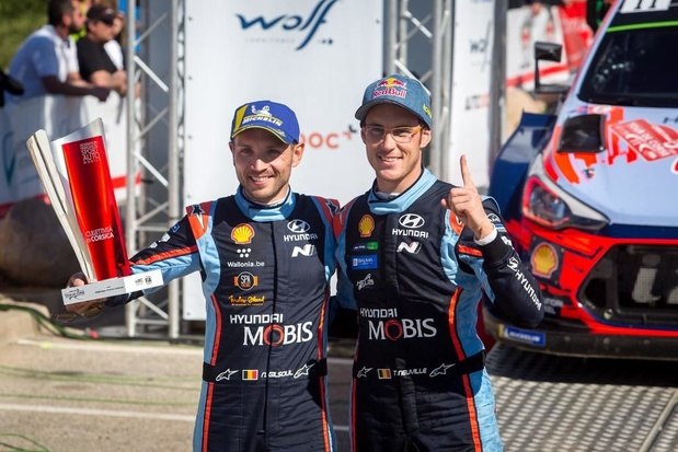 """Thierry Neuville met Hyundai i20 Coupé WRC in Ieper: """"Heel fijn om hier te rijden voor onze fans"""""""