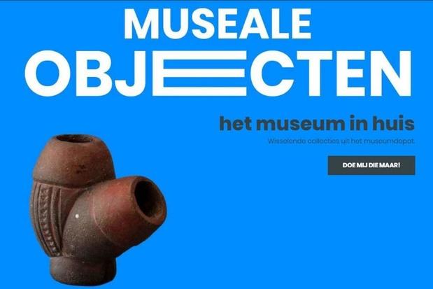 Overtollige museumstukken in webwinkel
