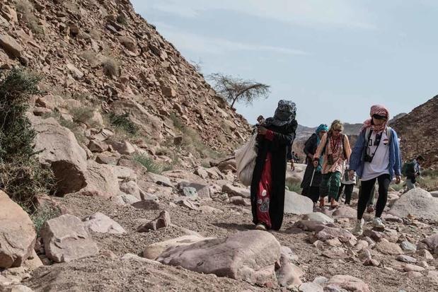 Les Bédouines guides de montagne du Sinaï