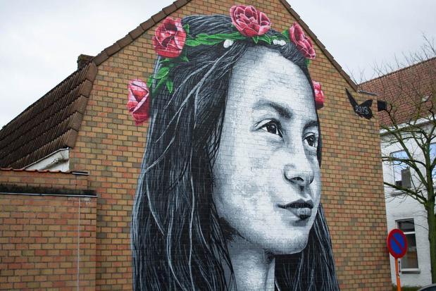 Drie keer meer kleur in de straat: Crystal Ship breidt in Wevelgem uit met nieuwe muren
