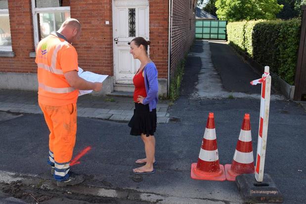 Inwoners van Roterijstraat in Wevelgem tijdlang zonder drinkbaar water