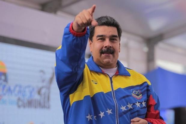 Maduro noemt sanctiedreiging EU 'chantage' voor onderhandelingen met oppositie