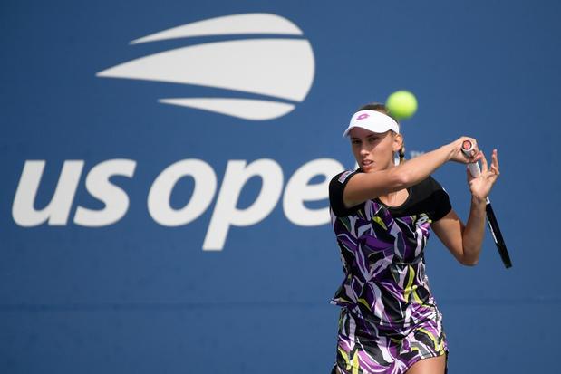 Elise Mertens plaatst zich vlot voor achtste finales US Open
