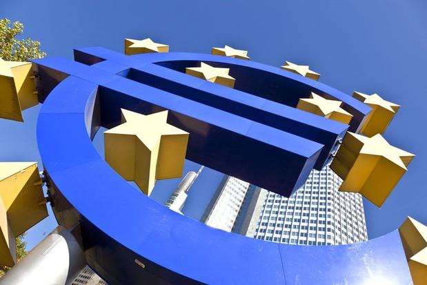 Economie eurozone krimpt met 3,8 procent in eerste kwartaal