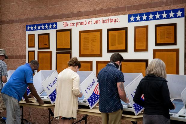 'In Amerika veranderen de stemprocedures voortdurend'
