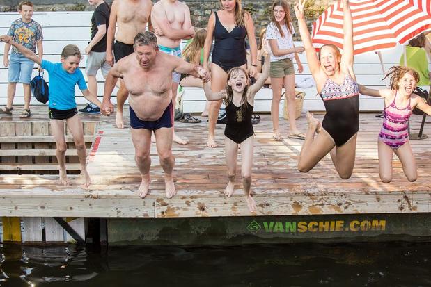 Zwemzone in Brugse reitjes in de prijzen