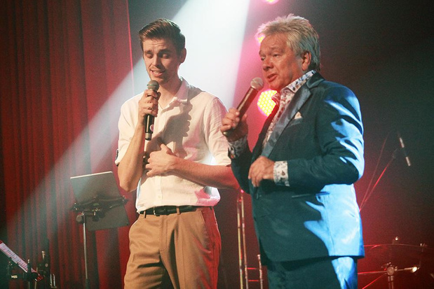 Frank Valentino zingt duet met zijn schoonzoon Kjell