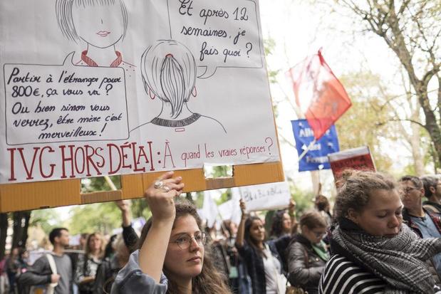 1.500 professionnels de la santé signent une pétition en faveur de la nouvelle proposition de loi IVG