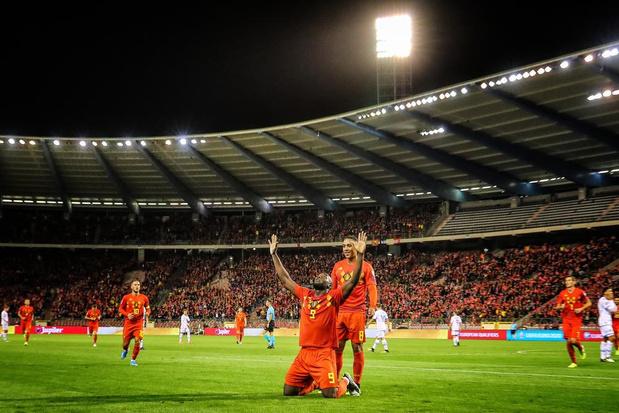 Rode Duivels kwalificeren zich voor EK na 9-0-overwinning tegen San Marino