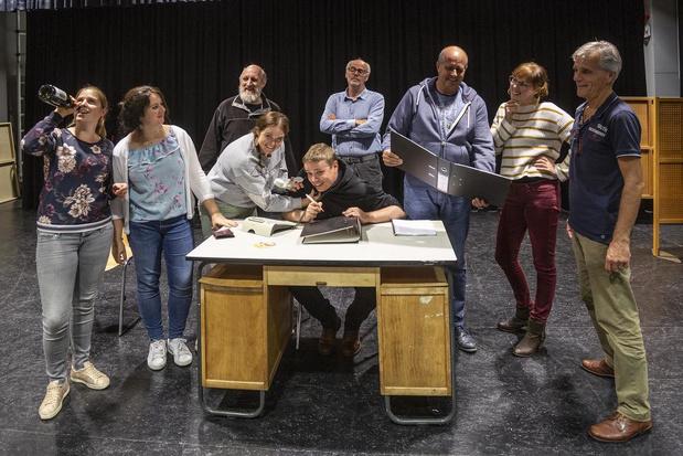 Jubilerende toneelgroep brengt 'De Slappe der Wet' in Ledegem