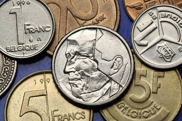 Zo'n 144 miljoen euro aan Belgische frank nog niet ingewisseld