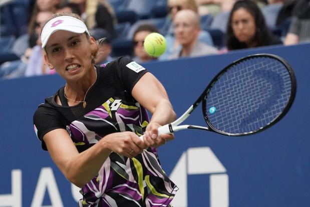 Elise Mertens in twee korte sets voorbij Kristie Ahn naar kwartfinales US Open