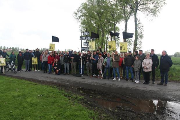 Einde verhaal voor windmolens langs Merlebeek in Beernem