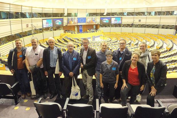 KW-lezers bezoeken Europees Parlement