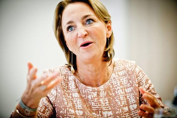 Michèle Sioen voor de klas: 'De industriële wereld schreeuwt om IT'ers en ingenieurs'