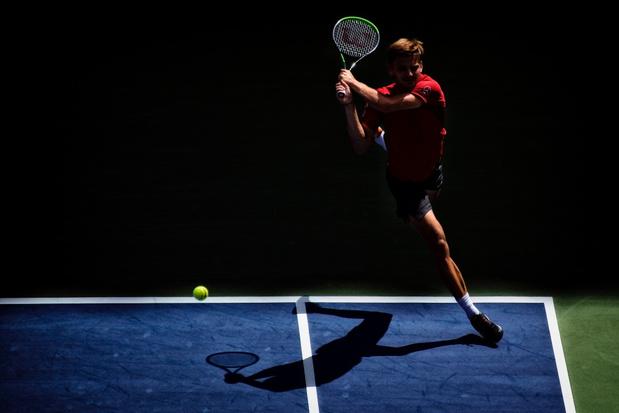 David Goffin kan niet stunten tegen Roger Federer