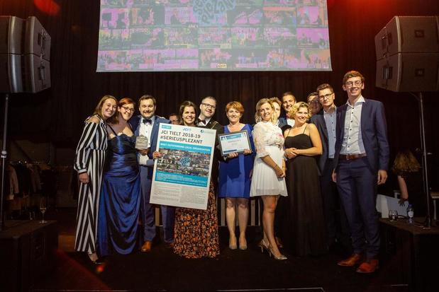 JCI Tielt wint internationale award voor communityproject JCI Transformers