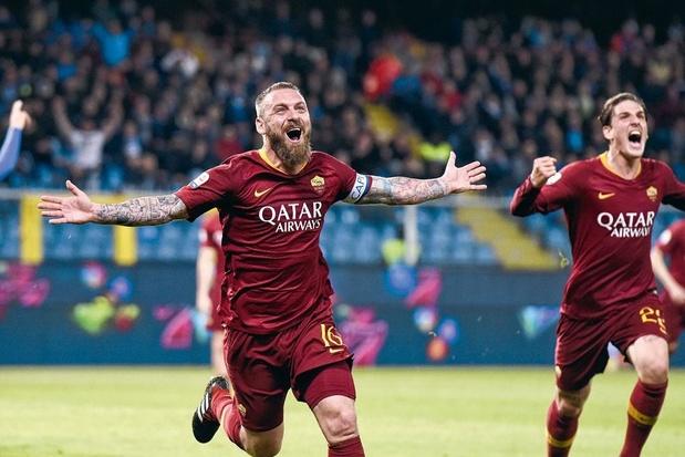 Na 18 seizoenen wuift Daniele De Rossi zondag AS Roma uit (met enige bitterheid)