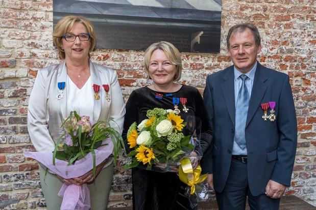 Koninklijke onderscheiding voor docenten Conservatorium Kortrijk
