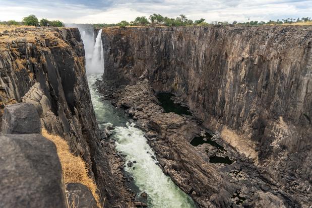 Wereldberoemde Victoria Falls dreigt droog te vallen