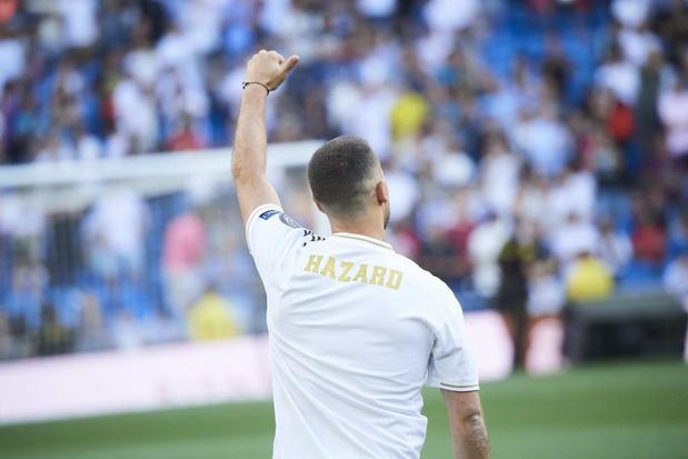Eden Hazard vormt het nieuw epicentrum van Real Madrid