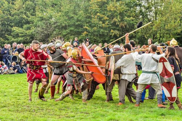 Ruim 5.000 bezoekers genieten van Gallo-Romeins weekend