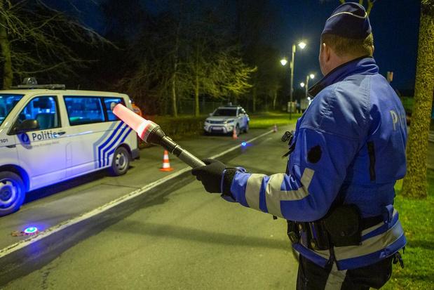 Zes positieve alcoholtesten en twee bestuurders betrapt op druggebruik
