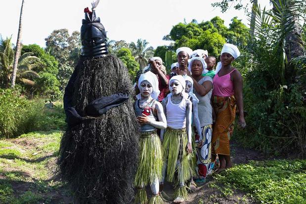 Les sociétés secrètes de la Sierra Leone (en images)