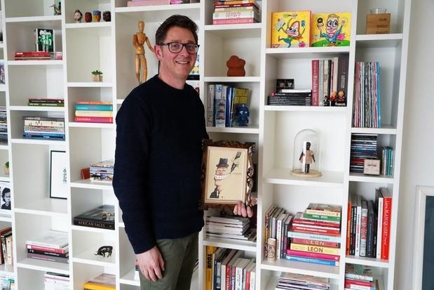 Karikaturist Hans Vanneste uit Meulebeke pakt uit met een lachkabinet