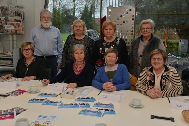 Leesgroep bib Oostkamp pakt uit leuk initiatief