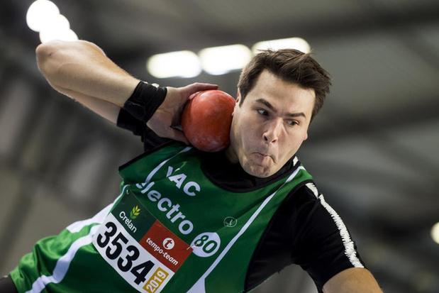 Bruggeling Philip Milanov gaat eruit in kwalificaties discuswerpen