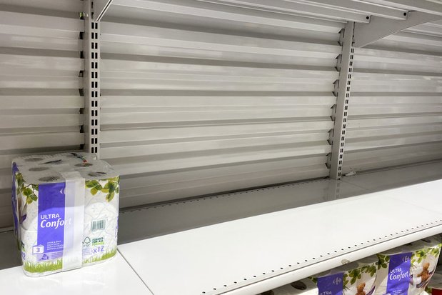 Coronavirus: supermarkten roepen op tot kalmte
