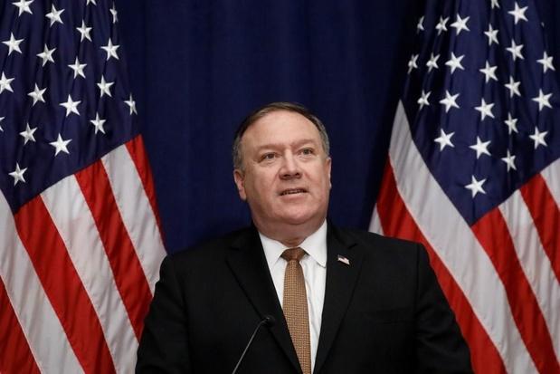 Pompeo: 'VS zal vrijheid van scheepvaart in Straat van Hormuz garanderen'