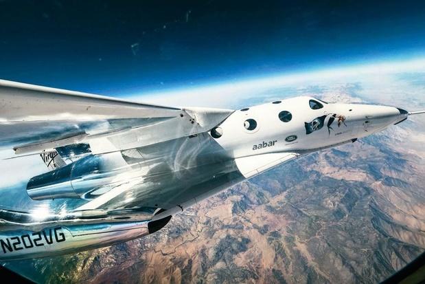 Virgin Galactic: près de 8.000 personnes sur la liste d'attente des voyages dans l'espace