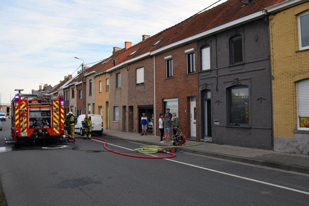 Woning in Luipaardstraat loopt heel wat schade op na korte keukenbrand