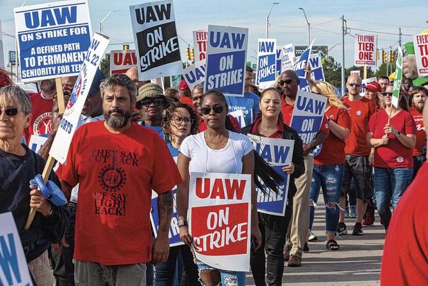 La grève chez GM a pris fin