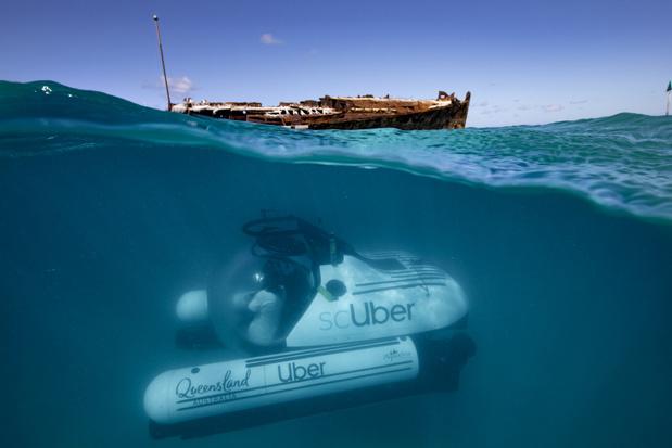Toeristen kunnen Great Barrier Reef voortaan verkennen vanuit een duikbootje