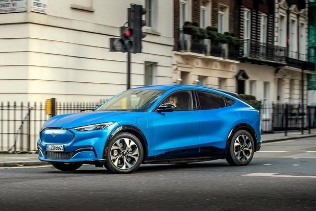 La Ford Mustang Mach-E commercialisée chez nous en 2021