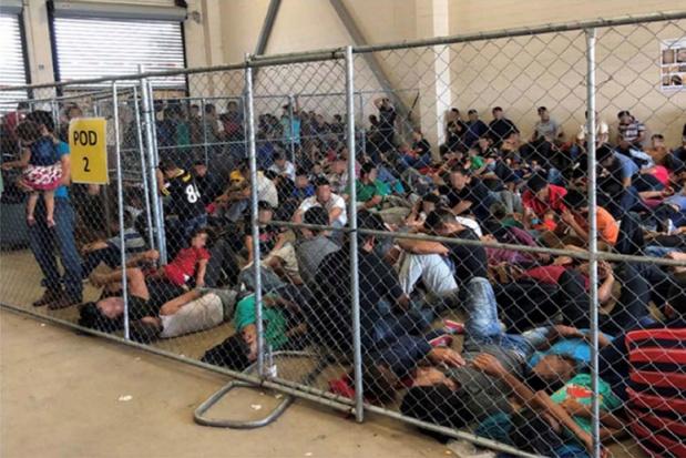 Trump stelt detentiecentra voor migranten open voor de pers