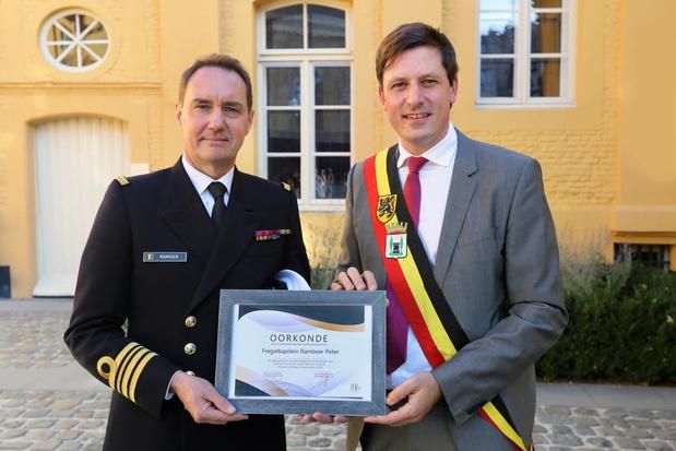 Fregatkapitein Peter Ramboer ereburger van Torhout