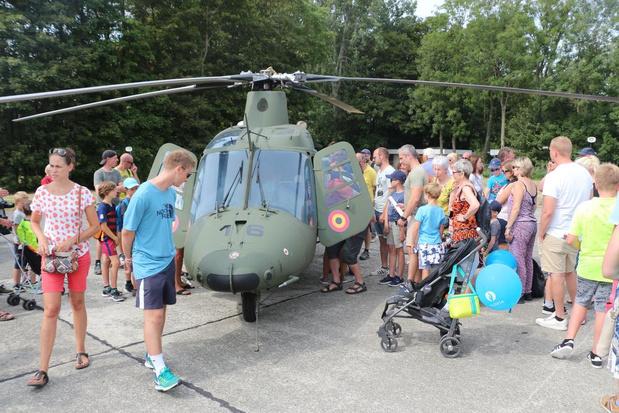 VIDEO - 10.000 bezoekers tekenen present op opendeurdag luchtmachtbasis Koksijde