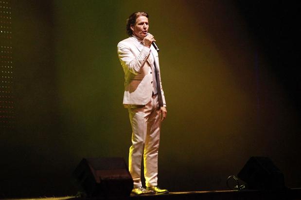 Frank Galan zong ook één song speciaal voor de mannen tijdens Kustschlagerfestival