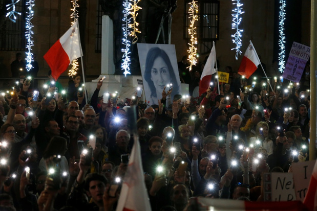 Maltese premier stapt op na schandaal rond moord op journaliste
